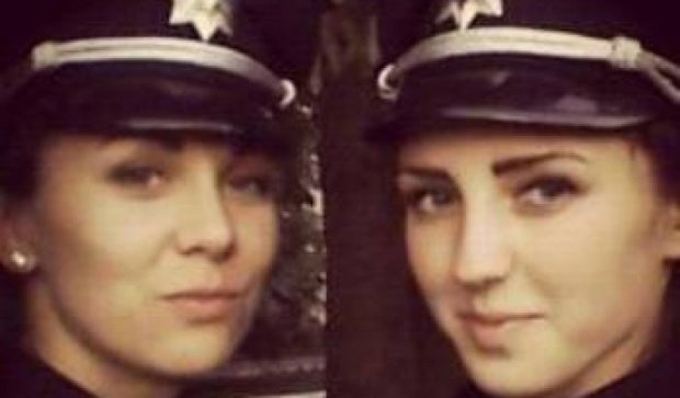 """Портал """"Знай"""" помогает искать жилье для двух красивых патрульных Киева"""