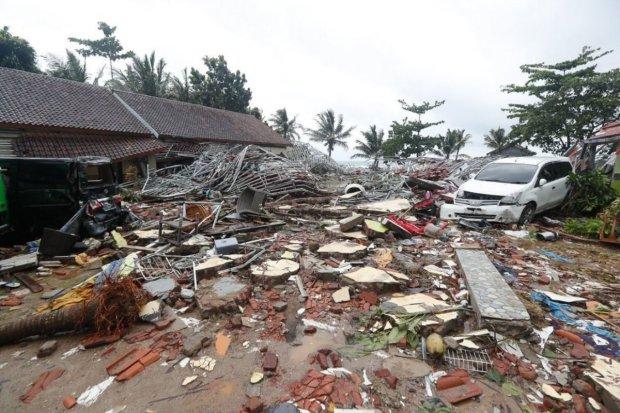Цунами в Индонезии (декабрь, 2018)