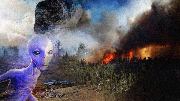 Апокаліптичний метеорит 10 серпня погасить пожежі в Сибіру: прибульці вже мчать до Росії, хоч комусь не все одно