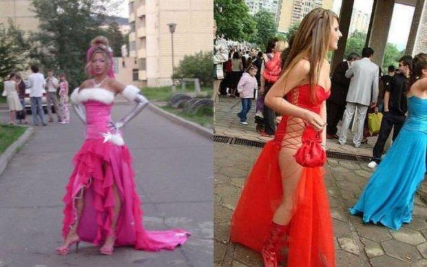Выпускной в Украине 2017: самые смешные платья прошлых годов