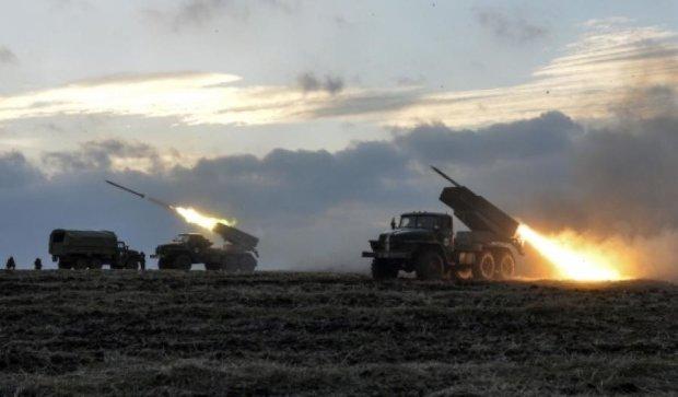 136 випадків ведення вогню бойовиками зафіксував штаб АТО