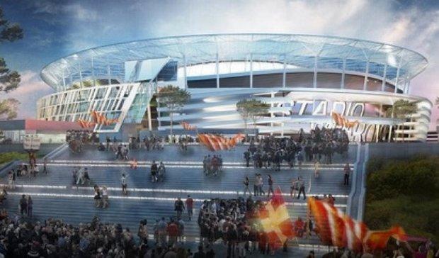 «Рома» представила проект нового стадиона стоимостью 400 млн евро