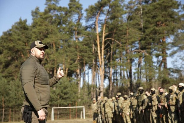 військовий вишкіл Нацкорпусу