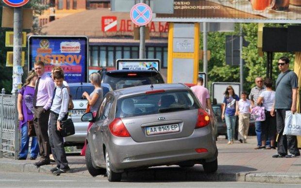 Негде пройти: киевские судьи показали, как не надо парковаться