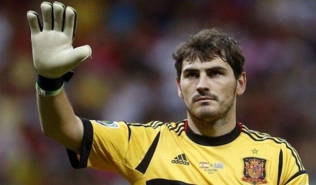 Касильяс обновил рекорд Лиги чемпионов