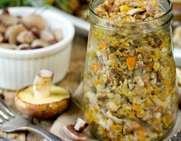 Грибная икра для быстрой закуски: вкусный и проверенный рецепт