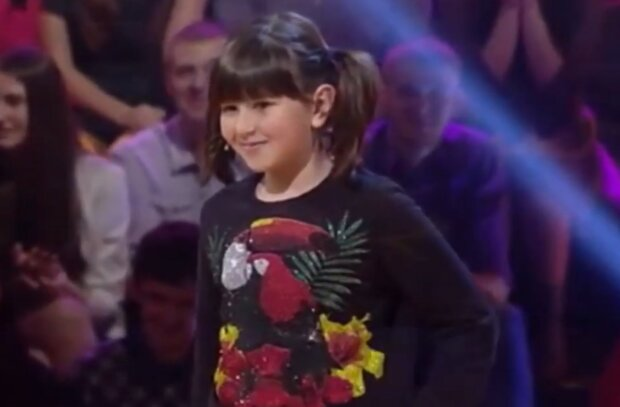 Донька Володимира Зеленького, скріншот: YouTube