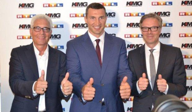 Володимир Кличко продовжив контракт з телеканалом RTL