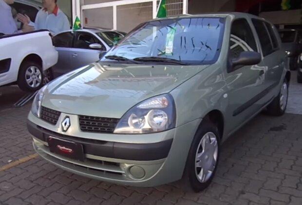 Renault Clio 2005 года выпуска, скриншот видео