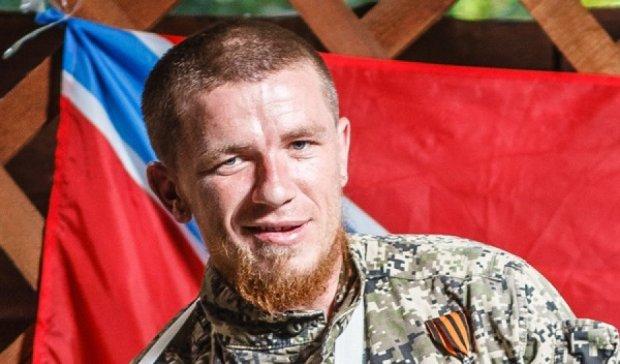 Моторола втік з Донецька з новою пасією