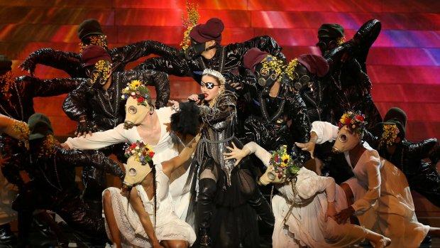 """Мадонна шокувала весь світ зухвалим виступом на Євробаченні-2019: """"Без політики ніяк"""""""