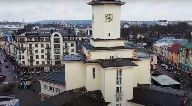 Івано-Франківськ, зображення ілюстративне, кадр з відео: YouTube