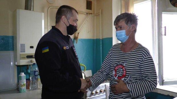 Роман Федоренко і сусід / скріншот з відео