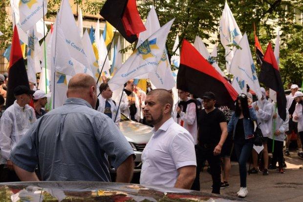 """Валентин Манько та Єдиний союз патріотів України вийшли на акцію під ГПУ: """"Рейдерство - не пройде!"""""""