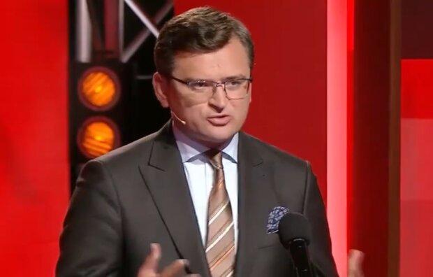 Дмитрий Кулеба, скриншот из видео