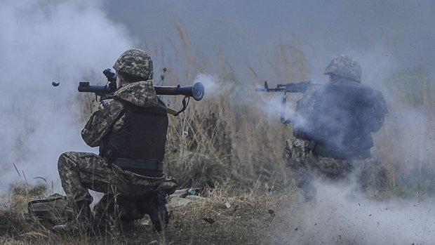 ВСУ знищили взводний опорний пункт терористів