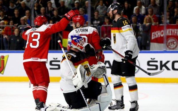 ЧС-2017 з хокею: Данія здобула вольову перемогу над Німеччиною, Франція здолала Білорусь
