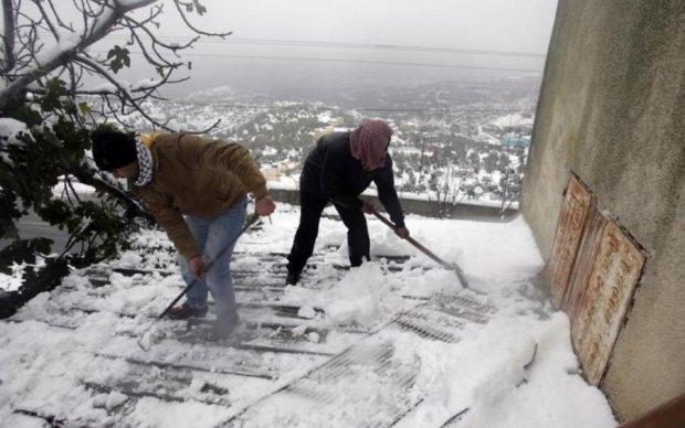 Июль, привет: Закарпатье похвасталось мокрым снегом