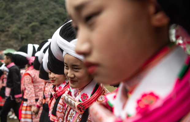 Танцы в париках из волос мертвых: китайцы отметили Праздник весны