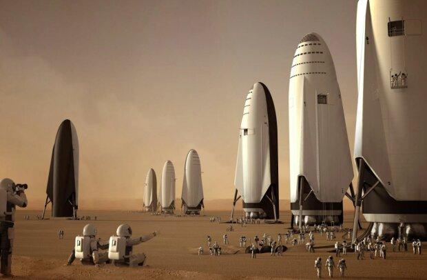 Колонизация Марса, скриншот: YouTube