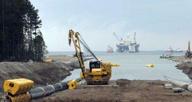 строительство Северного потока-2