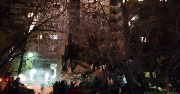 Смертельный взрыв в Магнитогорске зафиксировали на видео