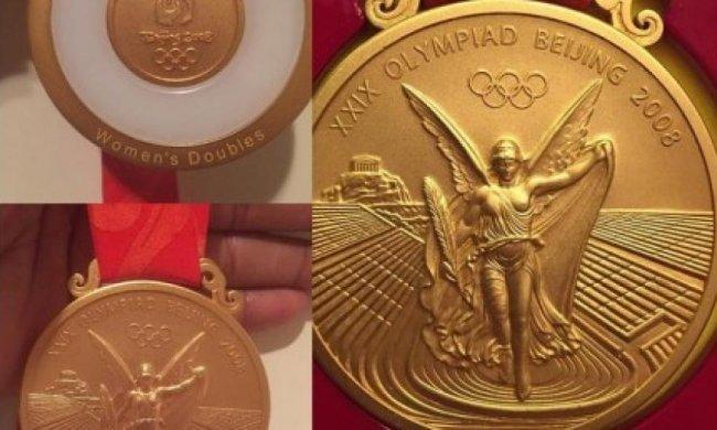 Сірена Вільямс знайшла золоту медаль під час прибирання (фото)
