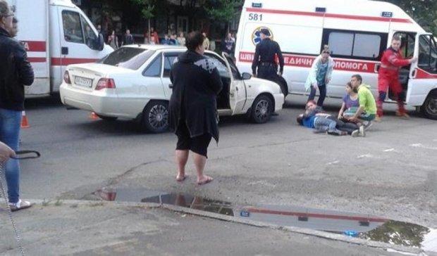 """У Києві """"Daewoo"""" збив дитину"""