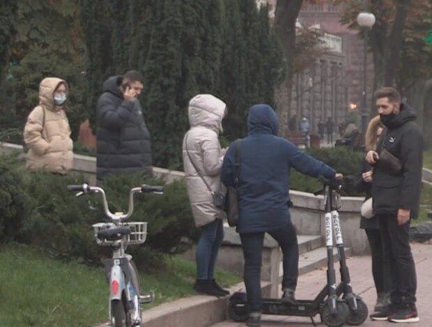 Карантин в Украине, скриншот видео