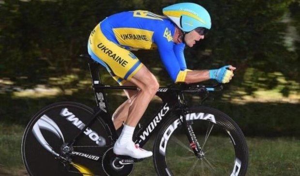 Український велосипедист виступив на чемпіонаті світу в шоломі Казахстану