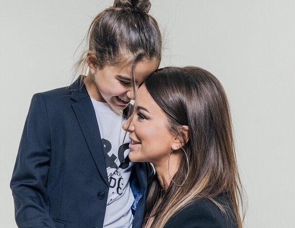 Ани Лорак с дочерью Соней, фото Instagram