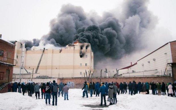 Мабуть проклін: у Росії знову горить торгівельний центр