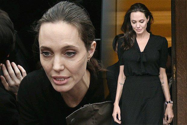 Джоли медленно превращается в жуткий скелет: такой ее даже Питт не видел