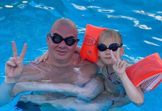 Евгений Кошевой с дочкой, фото с Instagram