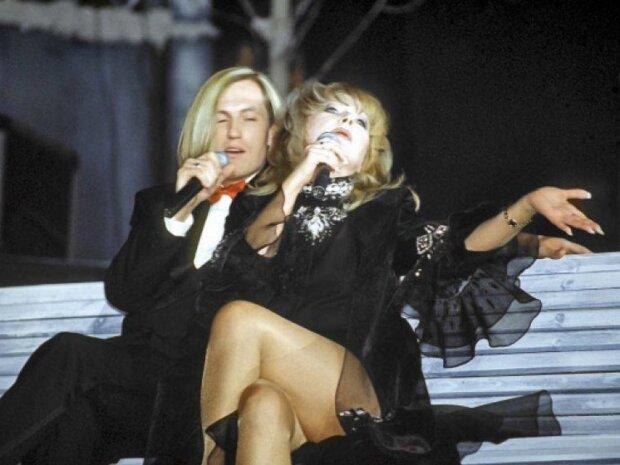 Пугачева с Челобановым на концерте, архивное фото из свободных источников