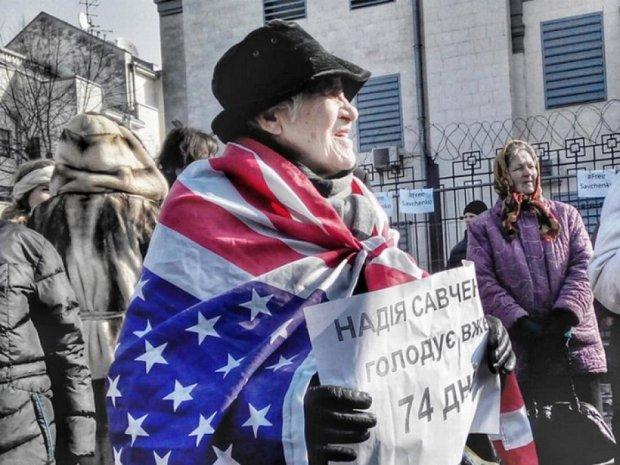 У Києві вийшли на мітинг на підтримку Савченко