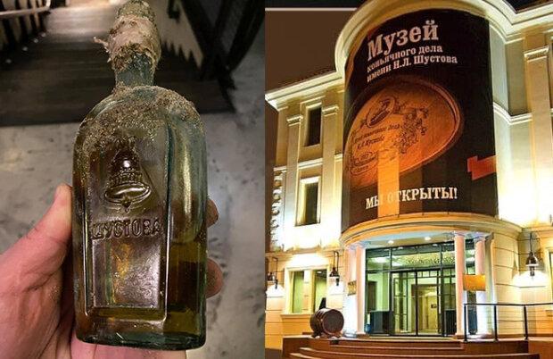В Одесі відкопали 120-річну закорковану пляшку коньяку, скрін