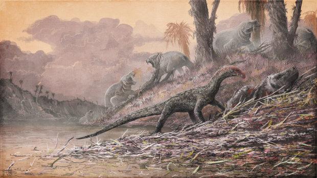 Убивал даже динозавров: ученые установили возраст страшной болезни по костям древнего животного
