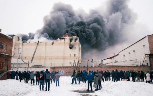 Пекло в Кемерово: МНС Росії скинуло все на потерпілих