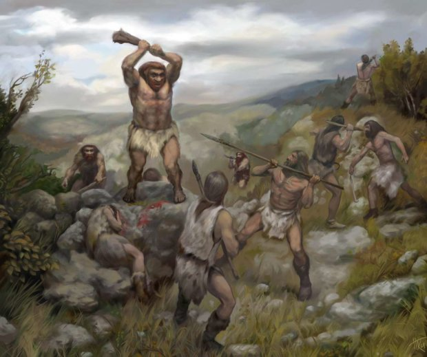 Дрючком по голові: вчені з'ясували, чи була у неандертальців схильність до насильства