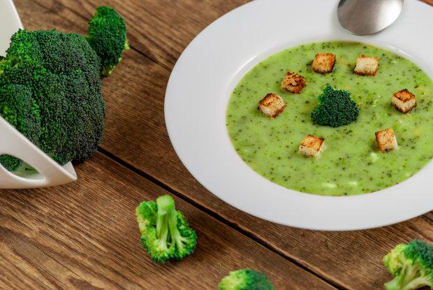 Покорит сердце любого гурмана: идеальный рецепт грибного супа с брокколи