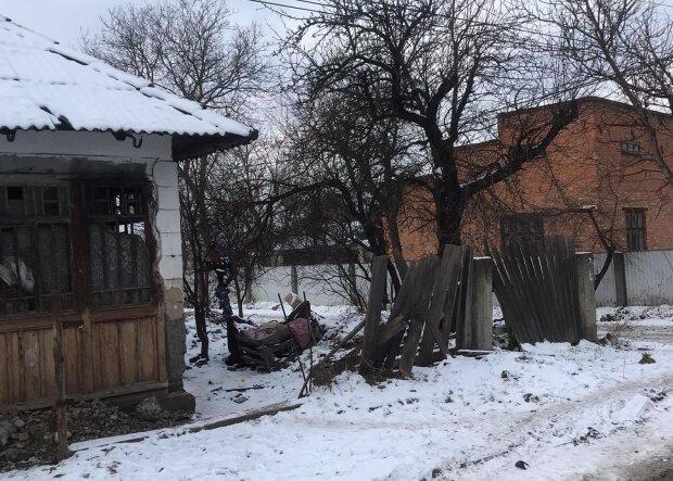 На Прикарпатье пенсионерка живет в ужасных условиях, фото: Facebook Типова Коломия