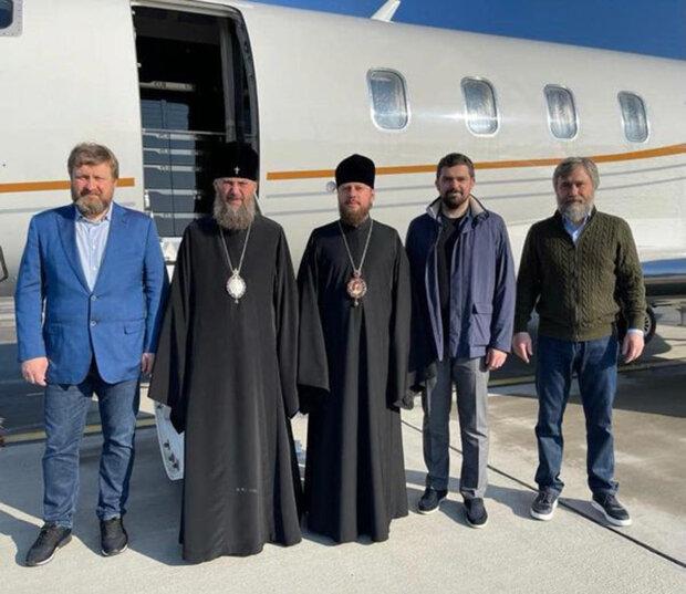 Делегация Украинской Православной Церкви