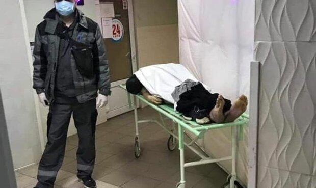 Лікарня в Одеській області, фото: Україна в шоці