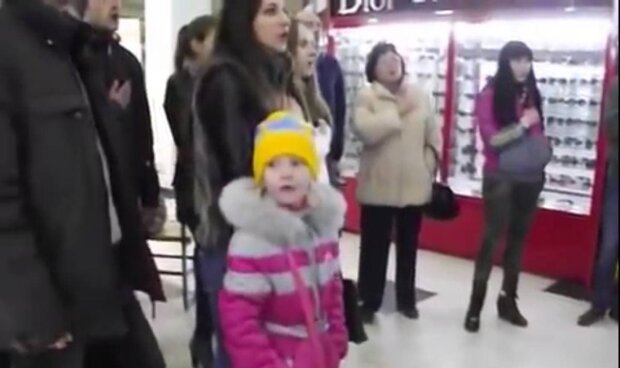 Дівчинка / скріншот з відео