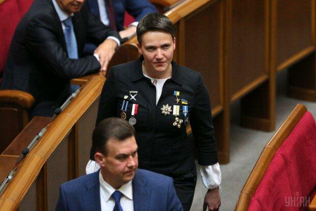 Гендерное равенство от Надежды Савченко: экс-нардеп завалилась в мужской туалет Рады