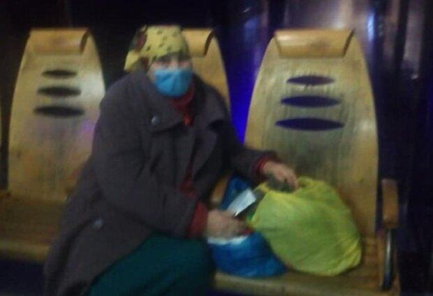 У Тернополі пенсіонерка живе на вокзалі: Galas