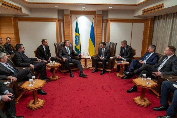 Зеленський обговорив з президентом Бразилії Болсонару варіанти співпраці між країнами: подробиці
