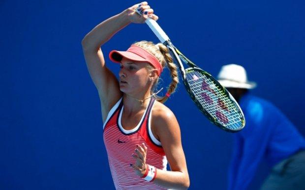 Юна українська тенісистка сенсаційно перемогла світову зірку