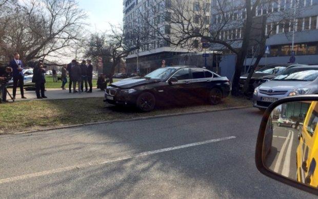 Польский госсекретарь попал в ДТП: опубликовано видео